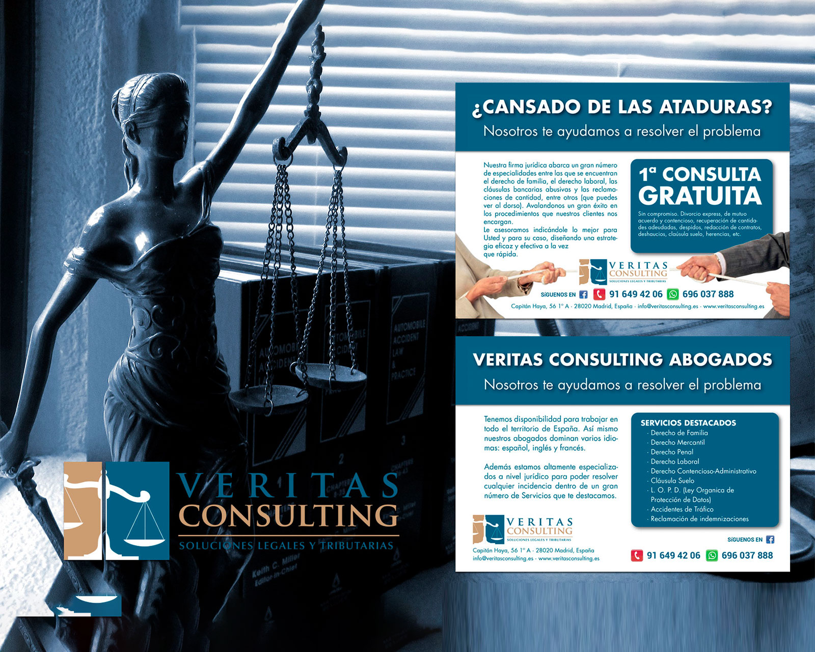 Logo & Web Design Veritas Consulting